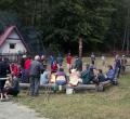 Táborák ve večerních hodinách