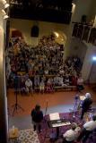 Zaplněný kostel při koncertu Hradišťanu