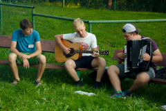 Hudba u táboráku