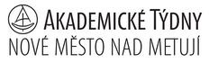 černobílý logotyp Akademické týdny Nové Město nad Metují