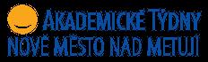 barevný logotyp Akademické týdny Nové Město nad Metují