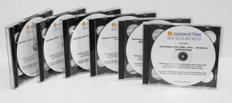 nahrávky na CD
